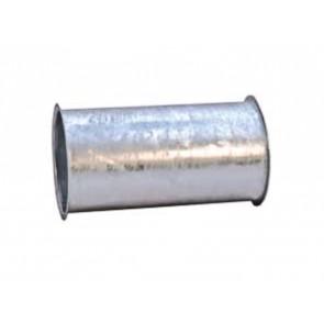 Rohr, STAHL, DN 100, gerade, Bördelkante L/R