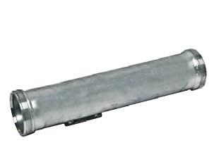 """Rohr DN 100, gerade, 4"""" Außengewinde L / R, Verdrehschutz"""